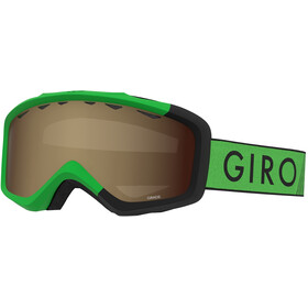 Giro Grade Goggles Kinder bright green/black zoom/amber rose